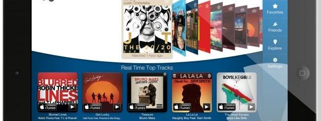 Shazam per iPad