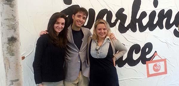 Il team di Uber Italia. La prima a destra è la general manager Benedetta Arese Lucini. Laureata alla Bocconi, è tornata in Italia dopo dieci anni negli Stati Uniti, in Europa e nel sud esta asiatico.