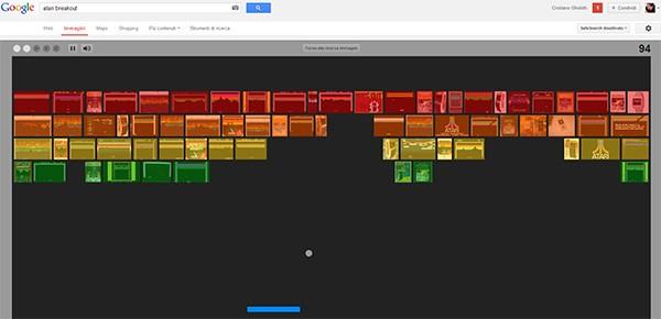 Un easter egg nascosto in Google Immagini rende omaggio ad Atari Breakout, con un gioco interattivo