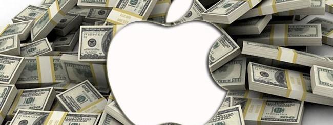 Apple, denaro.