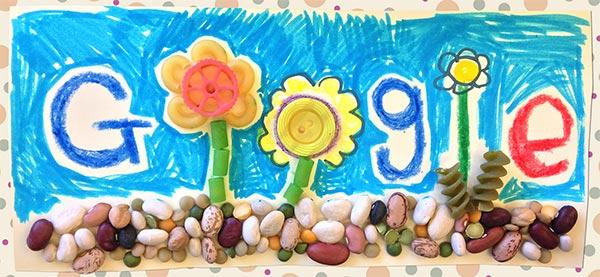 Un altro dei tanti doodle di oggi, dedicati alla festa della mamma