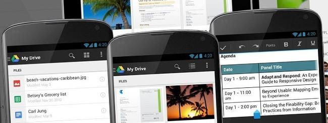 Google Drive su Android