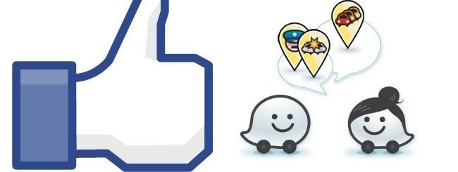 Facebook e Waze