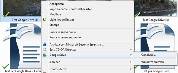 Da oggi con l'applicazione desktop di Google Drive è più semplice condividere i file caricati con altri utenti