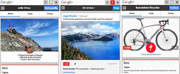 Anche la versione mobile di Google+ cambia look: ecco alcuni screenshot