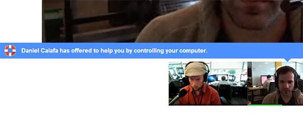 Hangouts Remote Desktop permette di controllare un computer da remoto tramite Google+