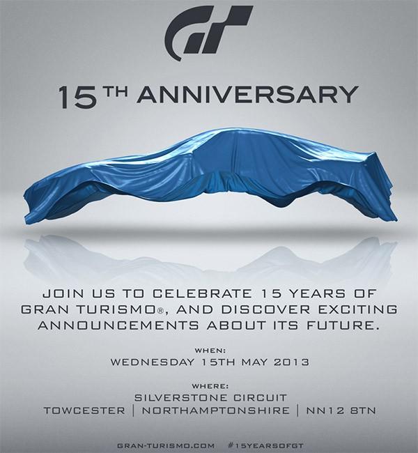 L'invito di Sony per l'evento del 15 maggio in cui potrebbe essere presentato Gran Turismo 6