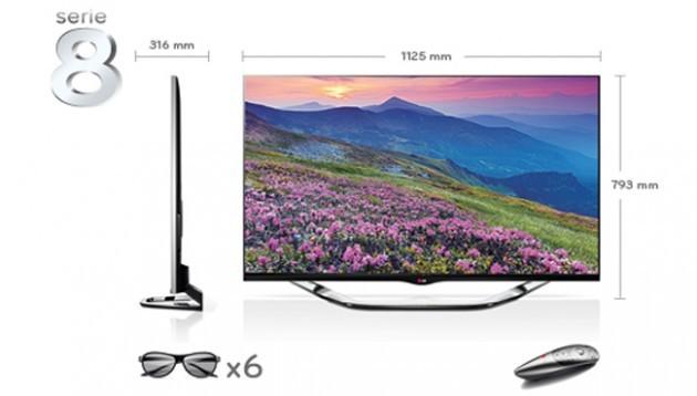 LG Smart TV Cinema 3D 55LA860V