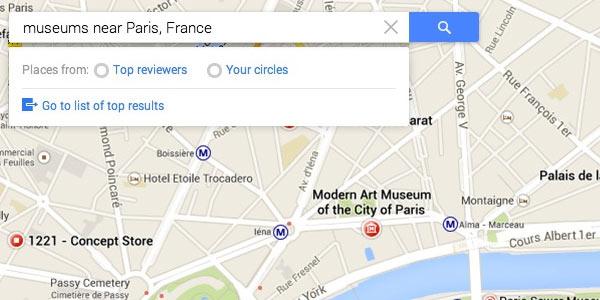 Screenshot per la nuova interfaccia di Google Maps, che potrebbe essere svelata oggi al Google I/O 2013