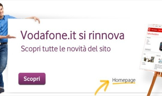 Il portale Vodafone.it si rinnova