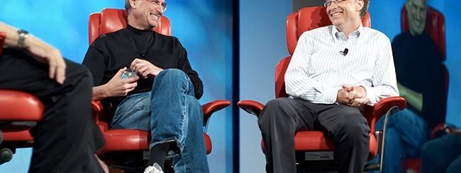 Steve Jobs e Bill Gates Insieme