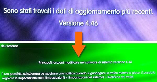 Sony ha rilasciato il firmware 4.46 per PlayStation 3