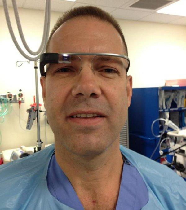 Google Glass in sala operatoria