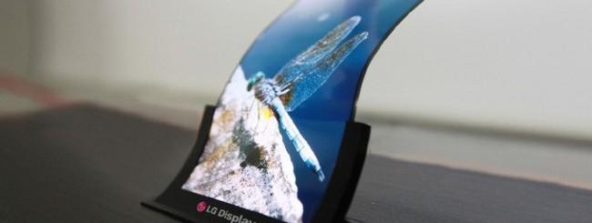 LG Display flessibile
