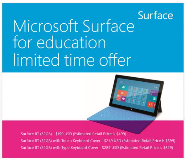 L'offerta per gli studenti valida dal 24 giugno al 31 agosto 2013.
