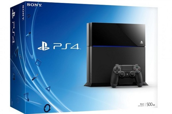 Confezione della PS4 di Sony