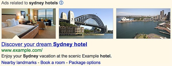 Google annuncia la possibilità di visualizzare immagini e fotografie all'interno delle inserzioni pubblicitarie