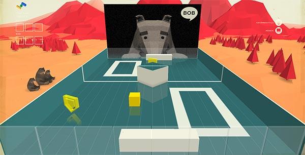 Avanzando di livello, in Cube Slam, si incontrano nuovi tavoli e nuovi ostacoli