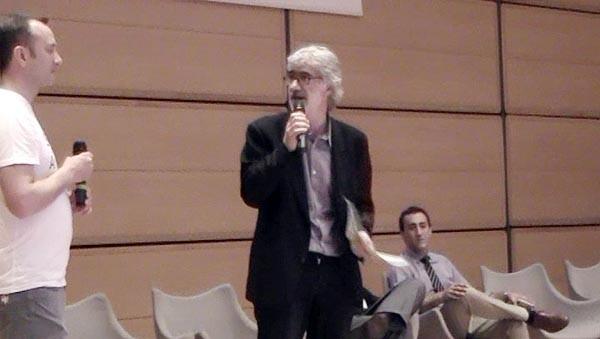 Luca De Biase - Nova24 - ha inaugurato la Fiera con un dibattito sullo stato dell'arte della legge sulle startup.