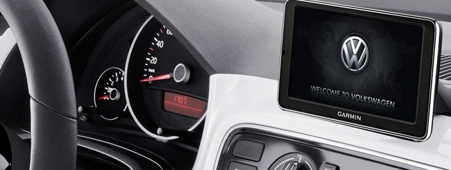 garmin maps more live su volkswagen up webnews. Black Bedroom Furniture Sets. Home Design Ideas