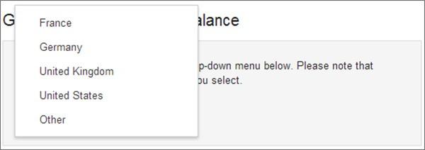 La conferma sul sito Google Play Help: le Gift Card sono disponibili anche in Francia e Germania