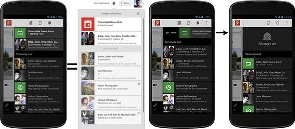 Le notifiche per l'app ufficiale Android di Google+ spiegate da Vic Gundotra