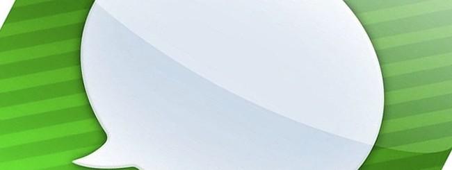Logo di iMessage
