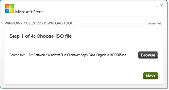 Windows 8.1 Preview: creazione della chiavetta USB di installazione
