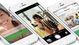 iOS 7 su iPhone 5 bianco