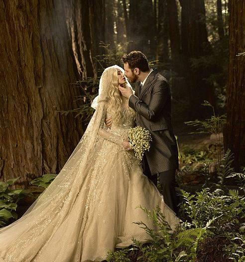 Foto di matrimonio di Sean e Alexandra Parker