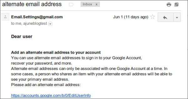 Una delle email di phishing inviate in queste settimane agli utenti iraniani, con l'obiettivo di rubare le credenziali di accesso ai servizi Google in vista delle elezioni