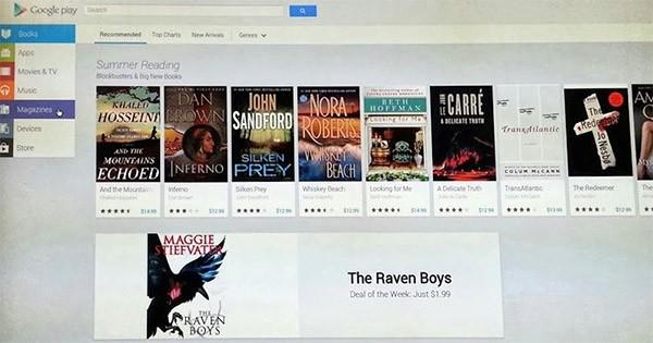 Un'altro scatto per la nuova interfaccia Web di Google Play
