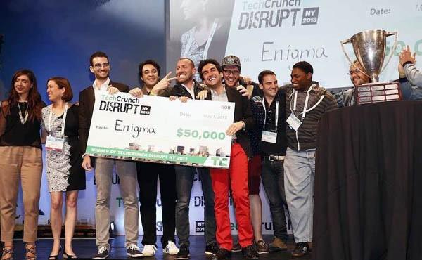 I vincitori della prima edizione della Startup Competition, nel 2012.