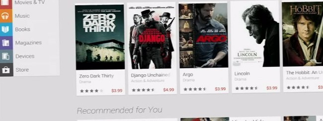 Google Play Store, restyling