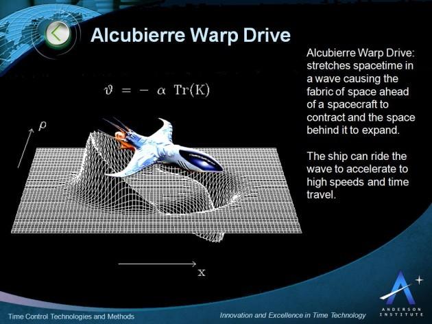 Il motore a curvatura teorizzato dal fisico