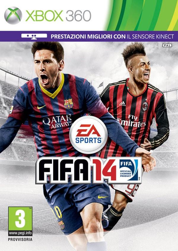 Cover italiana FIFA 14, edizione Xbox 360