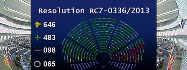 EU NSA risoluzione