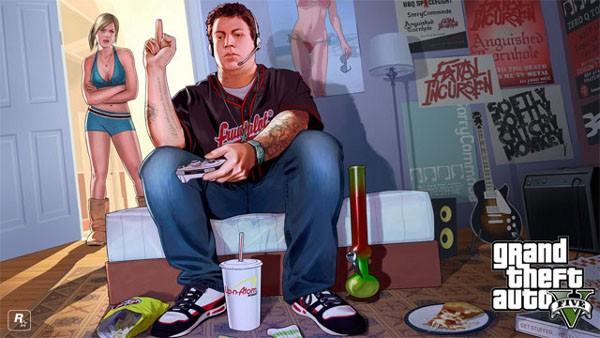GTA 5, wallpaper di Tracey e Jimmy
