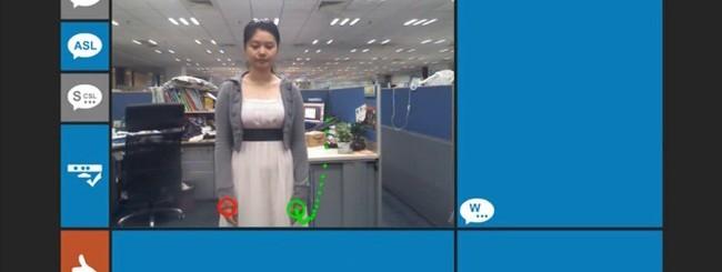 Kinect per non udenti