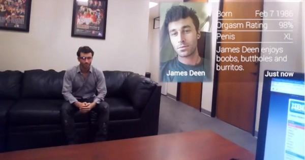 Riconoscimento facciale con i Google Glass in ambito porno