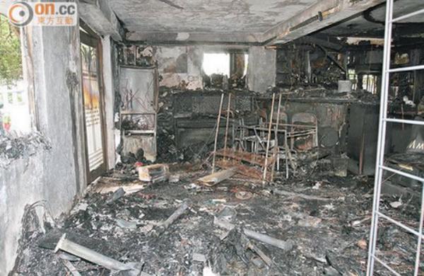Appartamento bruciato a causa di un Samsung Galaxy S4 esploso