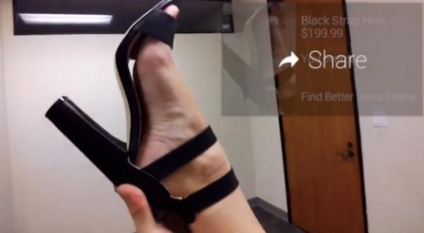 Una scena del trailer del film porno di Mikandi con i Google Glass