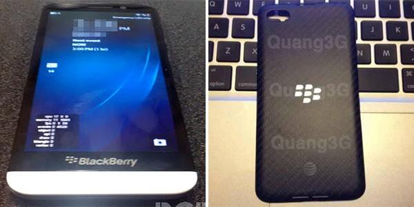BlackBerry A10 in due immagini trapelate in Rete, sulle pagine di BGR (a sinistra) e Tinh te (a destra)