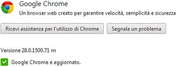 Il browser Google Chrome si aggiorna alla versione 28, con l'introduzione di novità riguardanti le notifiche
