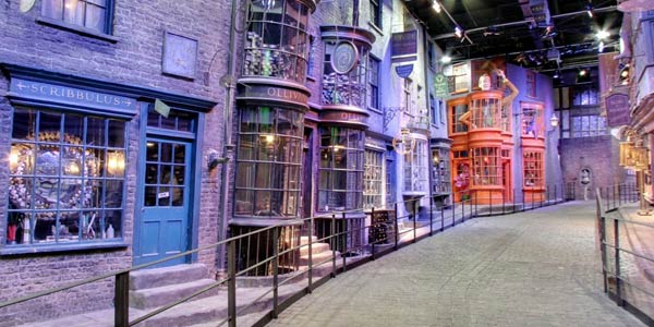 Una passeggiata nel mondo di Harry Potter con Google Maps: Street View fotografa Diagon Alley