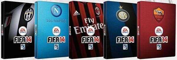 Ecco le Steelbox di FIFA 14 dedicate ai tifosi di Juventus, Napoli, Milan, Inter e Roma
