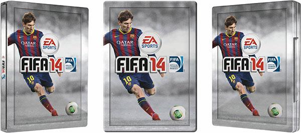 FIFA 14 in edizione steelbook, disponibile in pre-ordine al prezzo di 79,98 euro