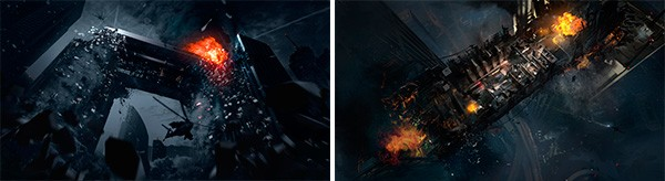 Un grattacielo devastato, sul punto di crollare, è l'ambientazione della mappa Free Fall di Call of Duty: Ghosts