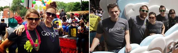 Alcuni dei numerosi Gayglers che hanno partecipato ai Pride 2013 di tutto il mondo