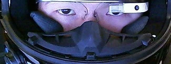 Google Glass in moto